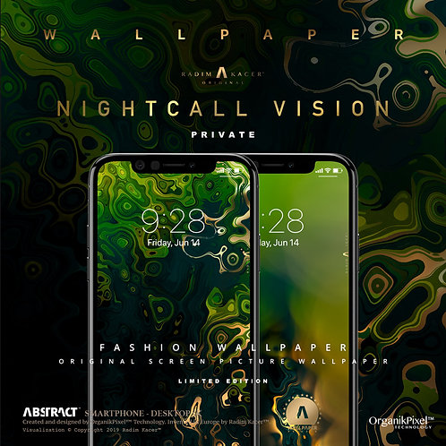 Nightcall Vision - Wallpaper for Phone (Private edition)