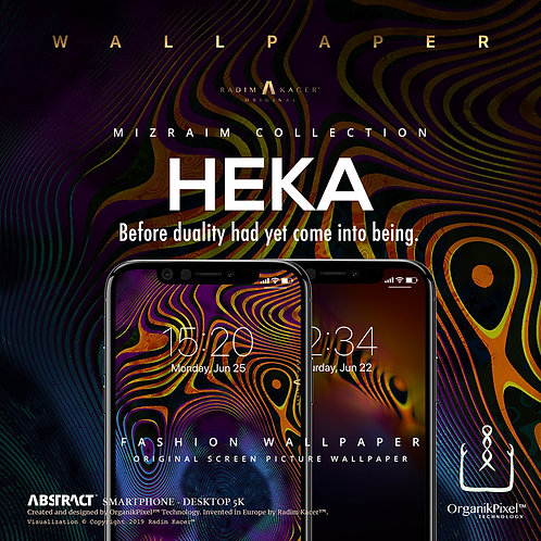 Heka - Wallpaper for Phone (Limited edition 10 copies)