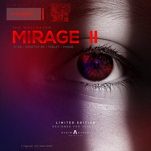 Mirage 2 - The Wallpaper (Limited edition 8 copies)