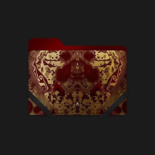 Draconem Hairto Gold-Red - Folder Icon