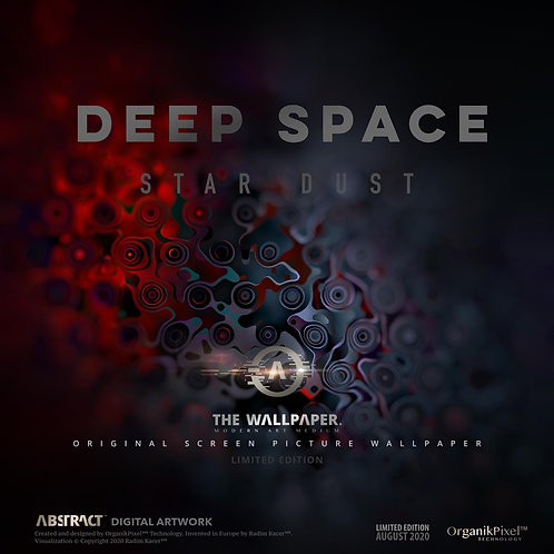 Deep Space Star Dust - The Wallpaper (Limited edition 20)