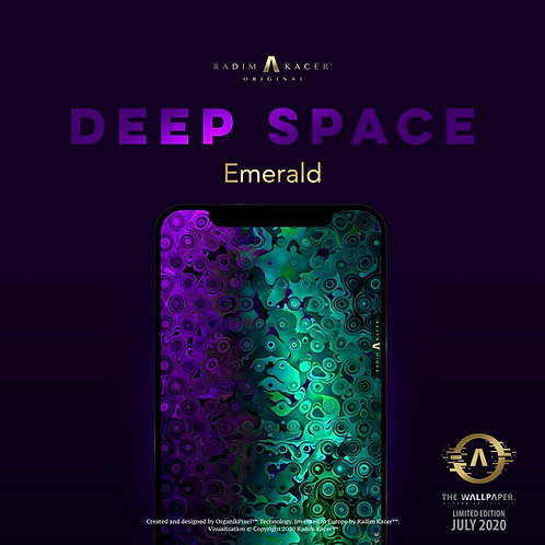Deep Space Emerald - The Wallpaper (Limited edition 100)