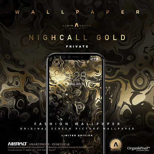 Nightcall Gold - Wallpaper for Phone (Private edition)