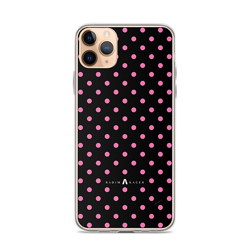 iPhone Case Pink Dots