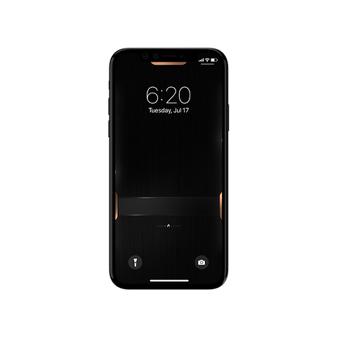 Black Steel Wallpaper For Iphone X