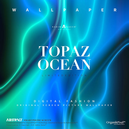 Topaz - Ocean - The Wallpaper (Limited edition 3 copies)
