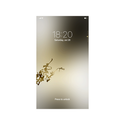 Modus Gold - Wallpaper for Phone