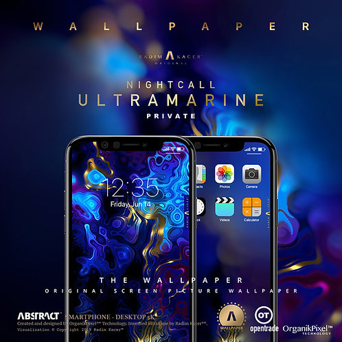 Nightcall Ultramarine - Wallpaper for Phone (Private)