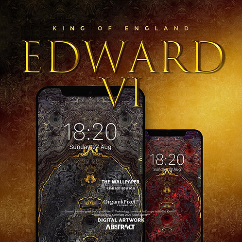 Edward VI King of England - The Wallpaper (Limited edition 10)