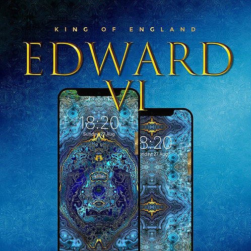 Edward VI Royal King of England - The Wallpaper (Limited edition 4)