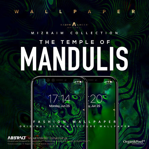 Mandulis - Wallpaper for Phone (Limited edition 10 copies)