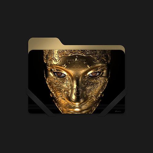 Draconem Hairto Gold - Folder Icon