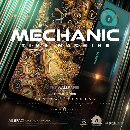 Mechanic Time Machine - The Wallpaper (Private)