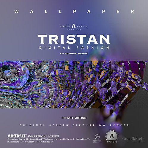 Tristan Chromium Mauve - The Wallpaper (Private)