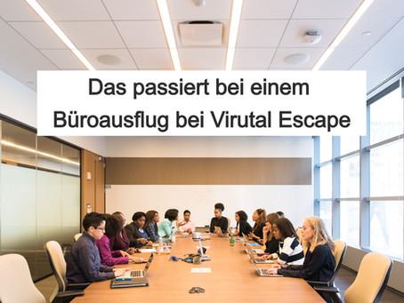Das passiert bei einem Büroausflug bei Virtual Escape