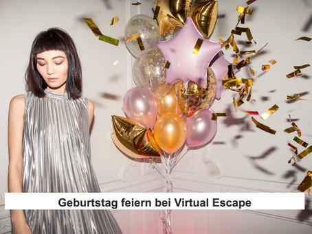 Geburtstag feiern bei Virtual Escape