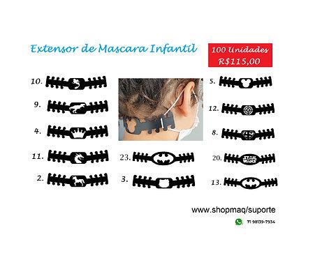 100 Suportes Anatômicos Infantil p/ Máscaras