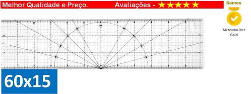 Regua Patchwork 60x15