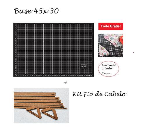 Base De Corte 45x30 A3 + Kit Fio De Cabelo