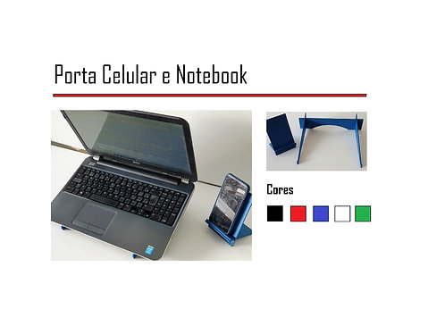 Kit Home Office Porta Celular , NoteBook,Laptop