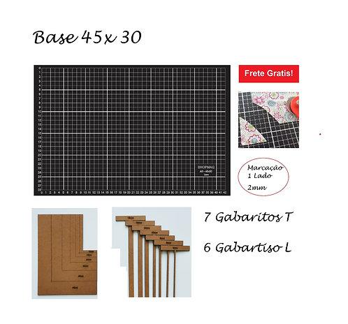Base De Corte 45x30 A3 +Kit L + Kit T