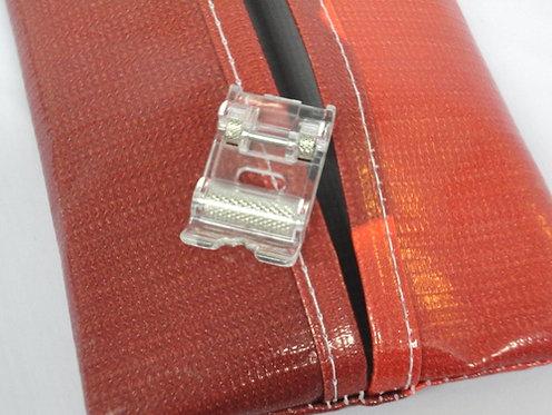 Calcador Com Rolete Para Costurar Couro, Plástico E Vinil Original