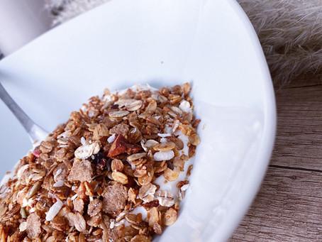 Syntisen hyvä granola resepti