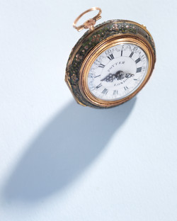 Shagreen watch