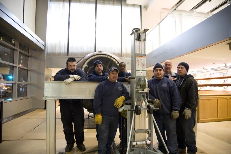 Dun Rite installation crew