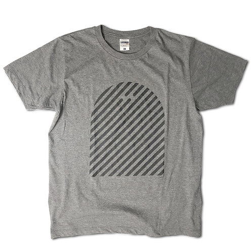 "EMU Tee ""stripe""  Grey"