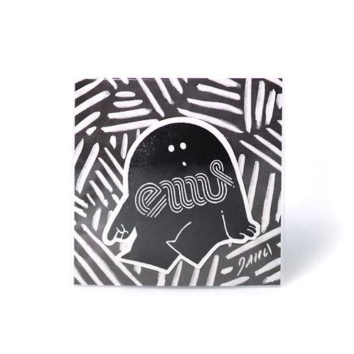 """EMU sticker """"SUWARI"""""""