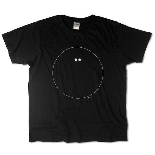 "EMU Tee ""circle"" Black"