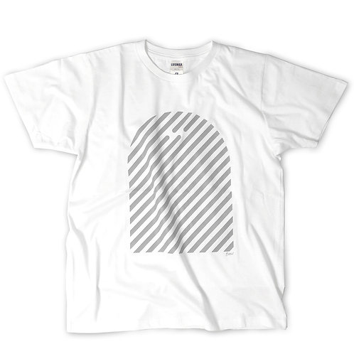 "EMU Tee ""stripe""  White"
