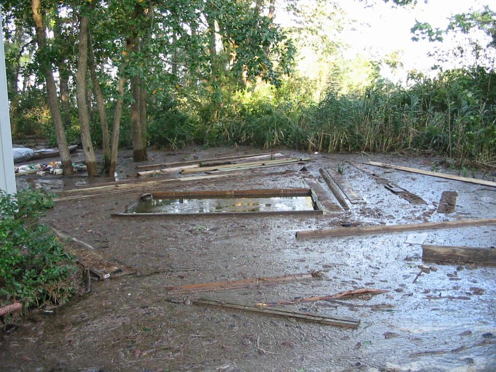 Hurrican Sandy impacts in Nanticoke, MD