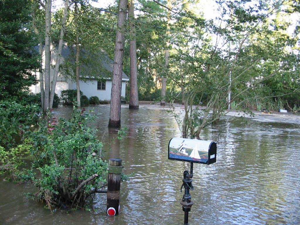 Hurricane Sandy impacts in Nanticoke