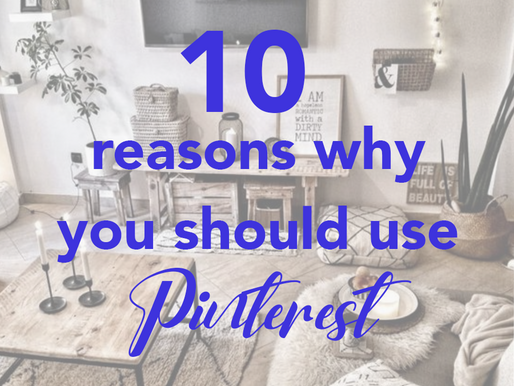 10 reasons to use Pinterest