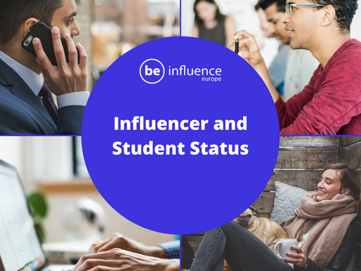 Influencer and student status