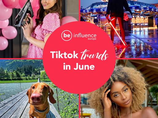 TikTok trends in June 2021