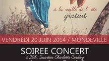 Festival à Mondeville, Seule en scène : L'interview (Ouest France)