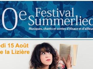 Saori Jo au Festival Summerlied le 15 Août