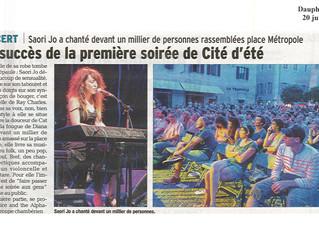 Saori Jo en tête d'affiche au Festival Cité D'été à Chambéry