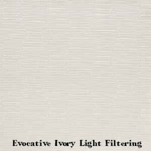 Evocative Ivory Light Filtering Flooring