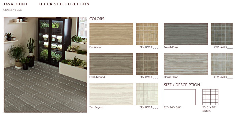 Special Order Porcelain Tile Flooring Now Herrin Illinois