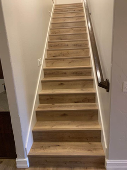 Aged Oak Stairs