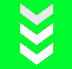 Pointing Arrow Green Screen