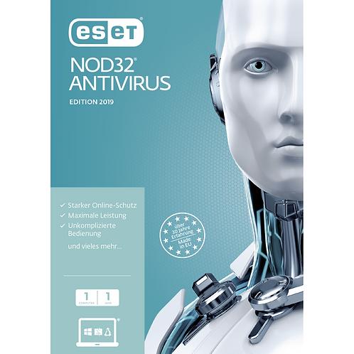ESET NOD32 Antivirus für Windows inklusive 1 Jahr Aktualisierungen (1 Gerät)