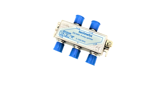 Technetix ESI-04N 4way Splitter, 4-Fach Verteiler