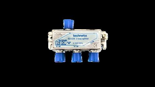 Technetix ESI-03N 3way Splitter, 3-Fach Verteiler