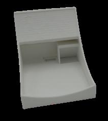 DONEXON Wandhalterung silber für domo / homee Brain Cube