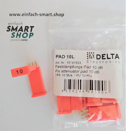 Festdämpfungspad 10 db DELTA Electronics PAD 10L